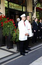 MARIAH CAREY Leaves Her Hotel in Paris 06/24/2017