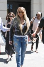 MARIAH CAREY Out in Barcelona 06/20/2017