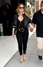MARIAH CAREY Out in Los Angeles 06/07/2017