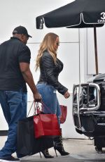 MARIAH CAREY Out Shopping in Beverly Hills 06/06/2017