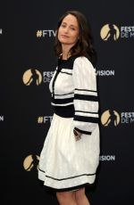 MARIE GILLAIN at Absentia Photocall at 57th Monte Carlo TV Festival 06/17/2017