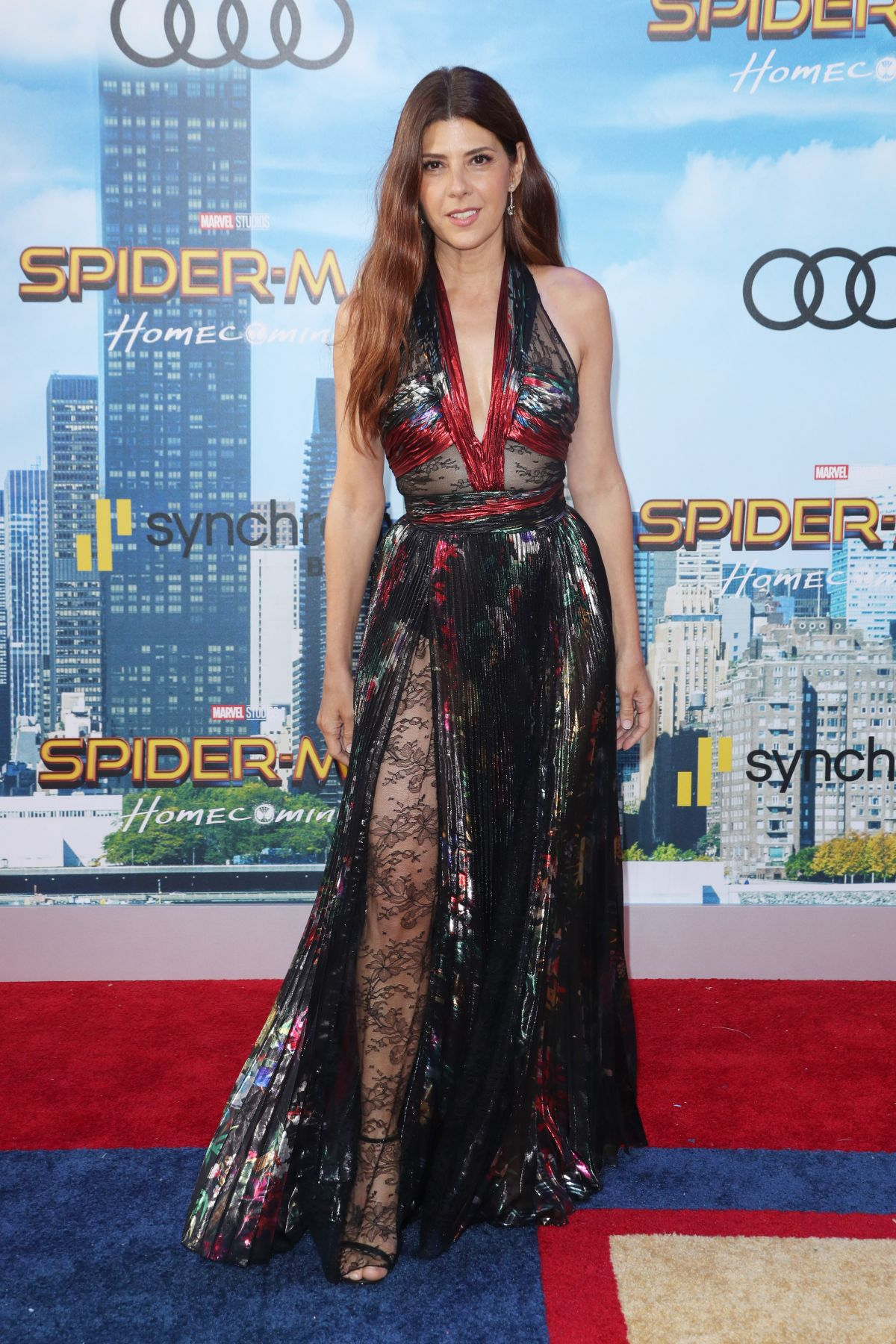 MARISA TOMEI at Spiderman: Homecoming Premiere in Los Angeles 06/28/2017