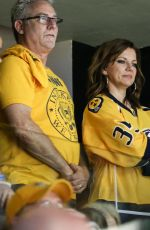 MARTINA MCBRIDE at 2017 NHL Stanley Cup Final in Nashville 06/03/2017