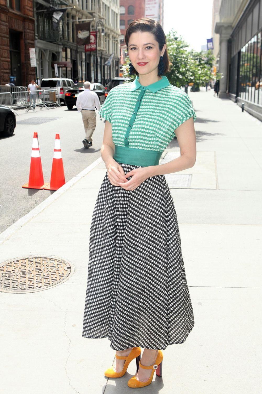 MARY ELIZABETH WINSTEAD Arrives for AOL Studio in New York 06/08/2017