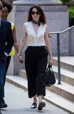 MARY-LOUISE PARKER Out and About in Brooklyn 06/22/2017