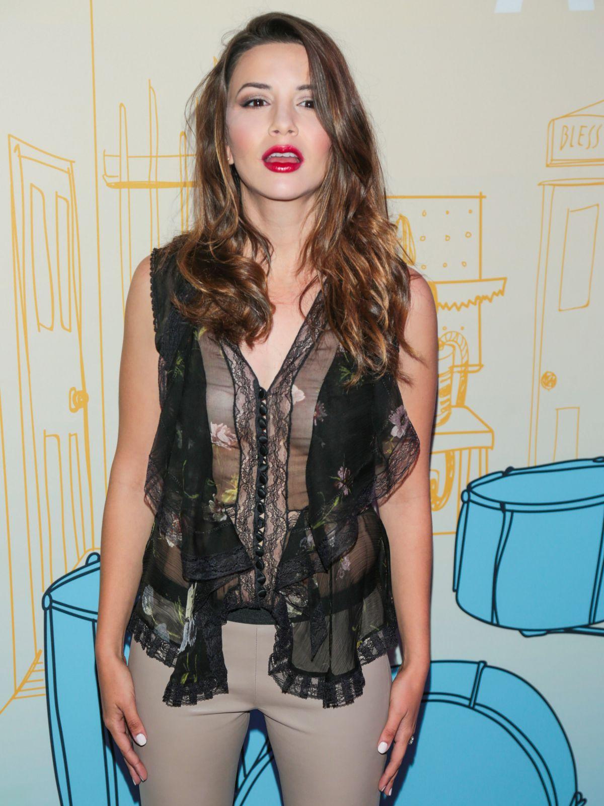MASIELA LUSHA at Band Aid Premiere in Los Angeles 05/30