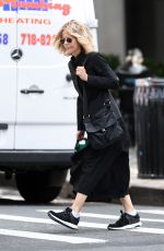 MEG RYAN Out and About in New York 06/01/2017