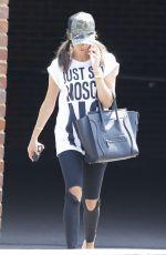 MEGAN MCKENNA Leaves Her Apartment in Essex 06/19/2017