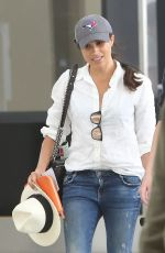 MEGHAN MARKLE Arrives at Airport in Toronto 06/10/2017