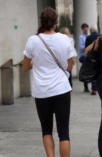 MELANIE SYKES Leaves BBC Radio in London 06/25/2017