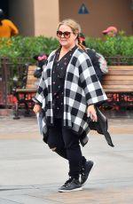 MELISSA MCCARTHY Out at Disneyland in Anaheim 05/31/2017