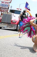 MELISSA MOLINARO and LIANE V at Carnival Celebration in Hollywood 06/26/2017
