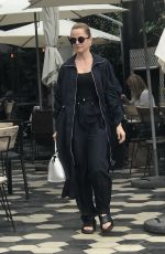 MENA SUVARI Out for Lunch in West Hollywood - 06/08/2017