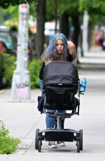 MIA TYLER Out and About in New York 06/15/2017