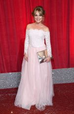 MICHELLE HARDWICK at British Soap Awards in Manchester 06/03/2017