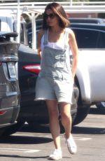 MILA KUNIS Shopping at Target in Los Angeles 06/26/2-17