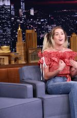 MILEY CYRUS at Tonight Show Starring Jimmy Fallon in New York 06/14/2017