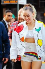 MILEY CYRUS Out and About in New York 06/14/2017
