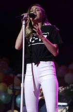 MILEY CYRUS Performs at 2017 BLI Summer Jam in New York 06/16/2017