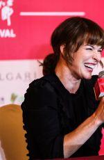 MILLA JOVOVICH at Golden Goblet Awards Press Conference 20th Shanghai International Film Festival 06/25/2017