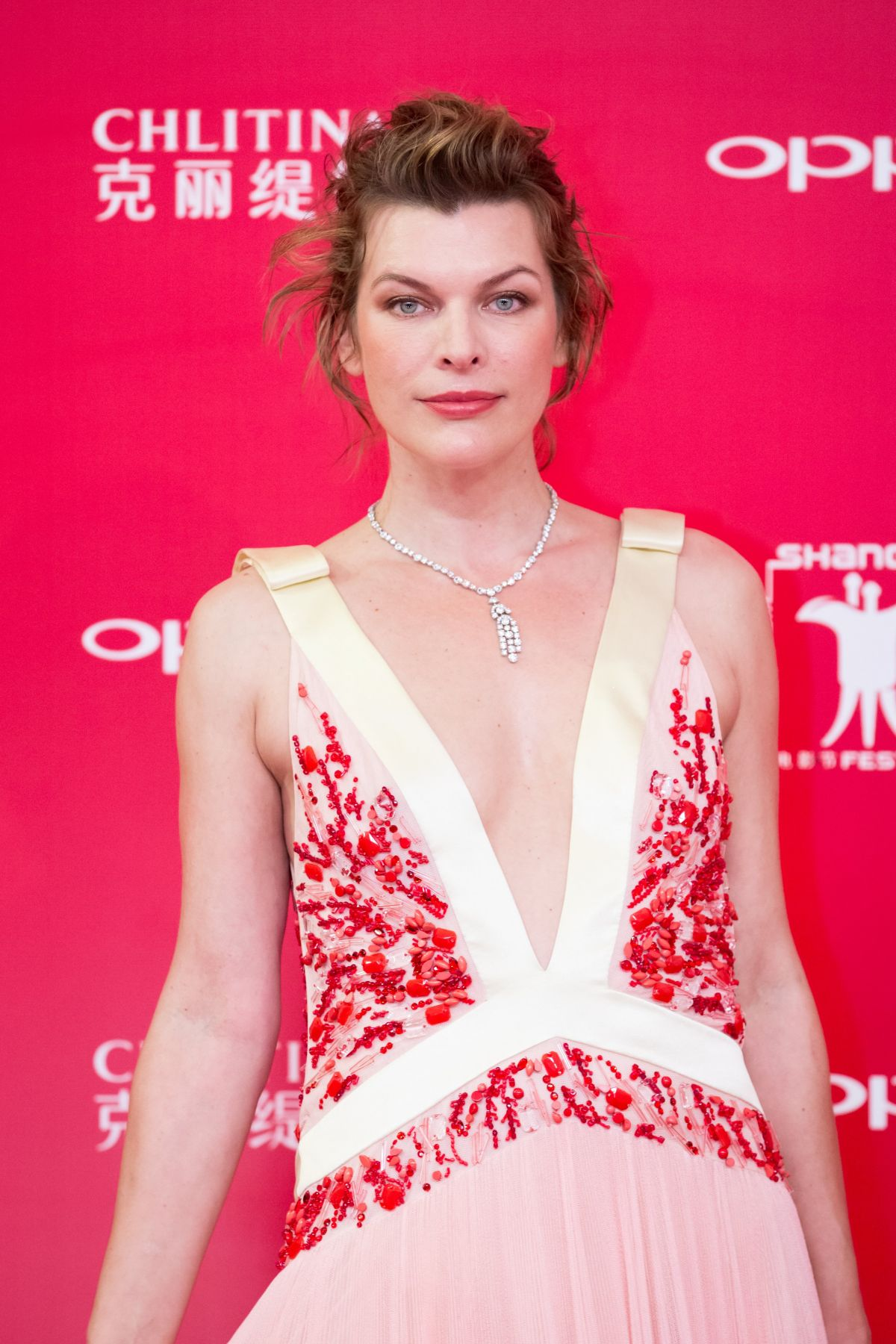 MILLA JOVOVICH at Shanghai International Film Festival ... Milla Jovovich