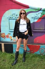 MILLIE MACKINTOSH at Glastonbury Festival in Suffolk 06/23/2017