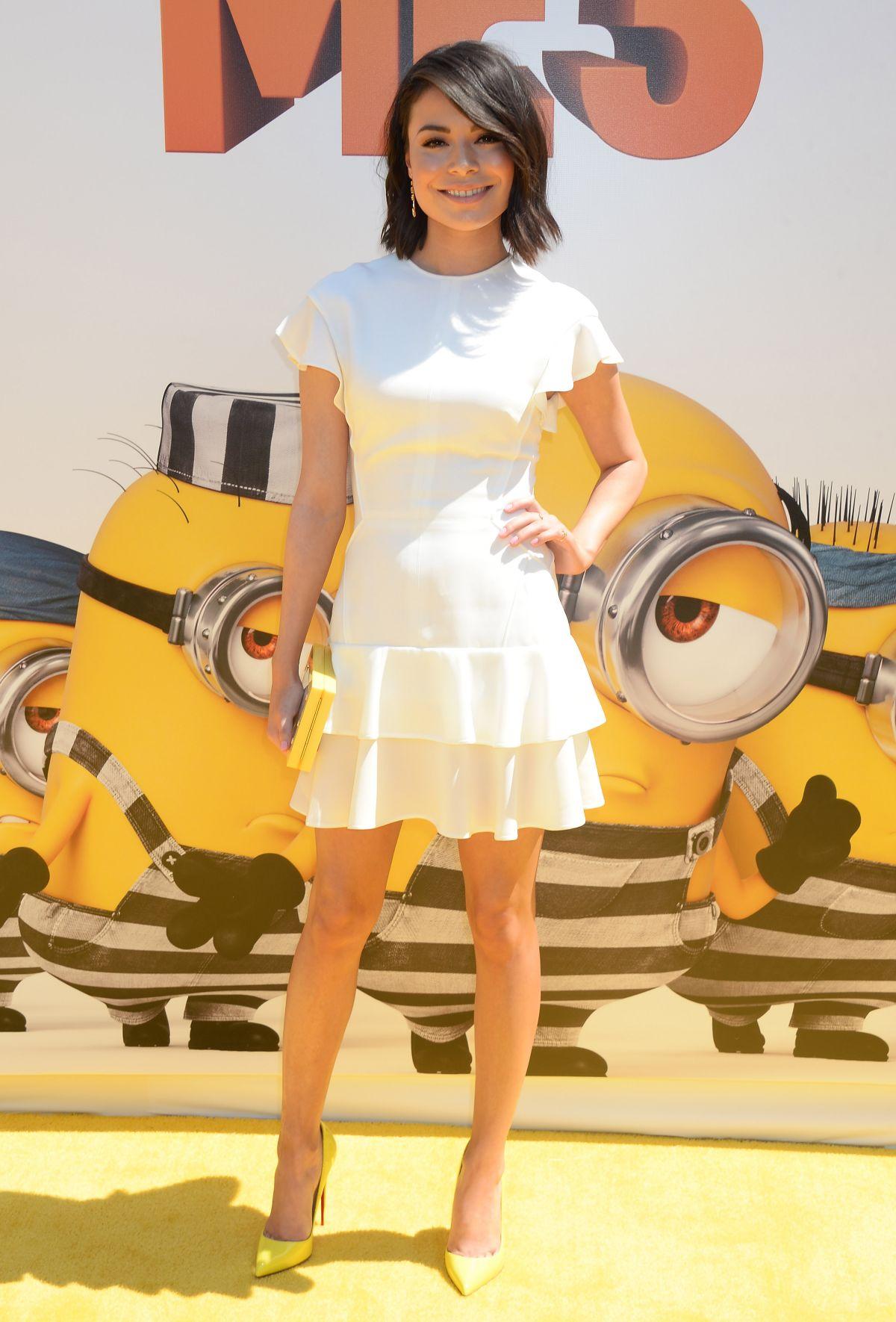 MIRANDA COSGROVE at Despicable Me 3 Premiere in Los ... Miranda Cosgrove Despicable Me