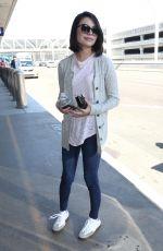 MIRANDA COSGROVE at LAX Airport in Los Angeles 06/26/2017