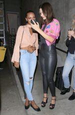 MIRANDA KERR and JASMINE TOOKES Arrives at Moschino Spring Summer 2018 Resort Collection 06/08/2017