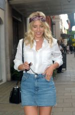 MOLLIE KING Out with a Friend in London 06/12/2017