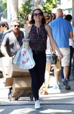 MOLLY SHANNON Out Shopping in Los Angeles 06/21/2017