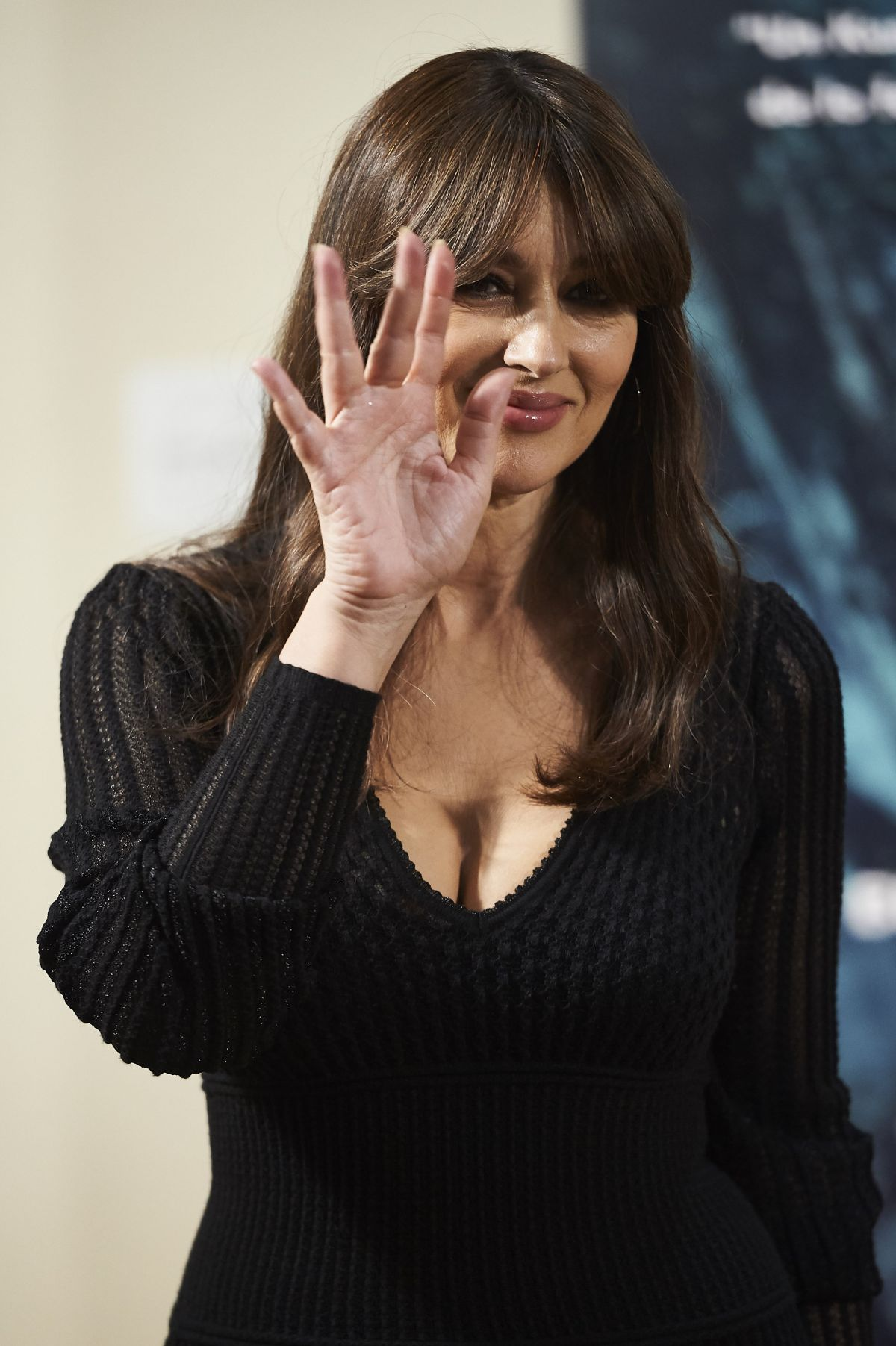 MONICA BELLUCCI at On the Milky Road Photocall in Madrid ... Monica Bellucci 2017