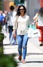 MORENA BACCARIN Out in New York 06/09/2017