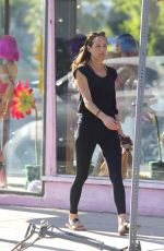 MORGAN BROWN Out Shopping in West Hollywood 06/20/2017
