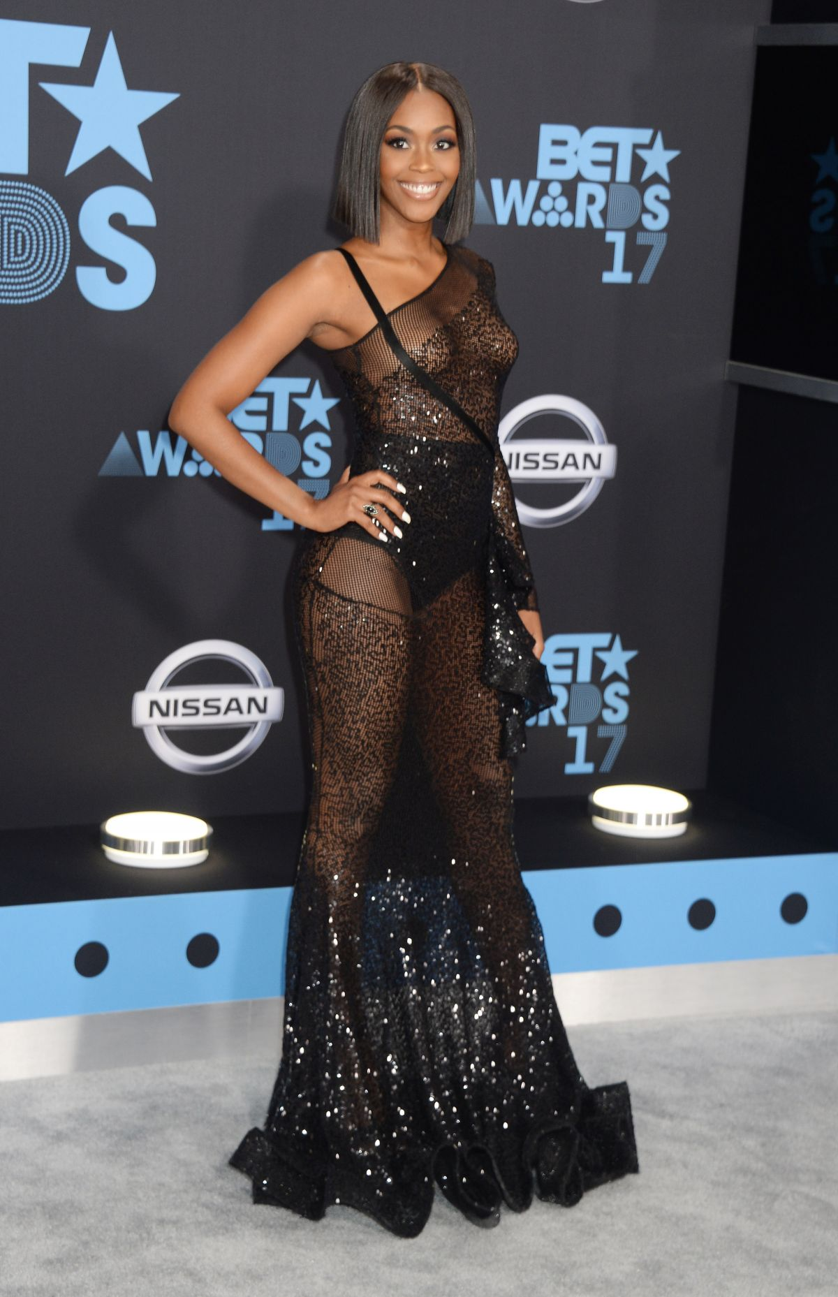 NAFESSA WILLIAMS at BET Awards 2017 in Los Angeles 06/25/2017