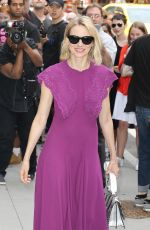 NAOMI WATTS Arrives at AOL Build Speaker Series in New York 06/29/2017