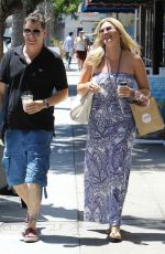 NATASHA HENSTRIDGE Out Shopping in Los Angeles 06/14/2017