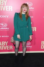 NATASHA LYONNE at Baby Driver Premiere in Los Angeles 06/14/2017