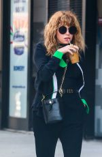 NATASHA LYONNE Out and About in New York 06/22/2017