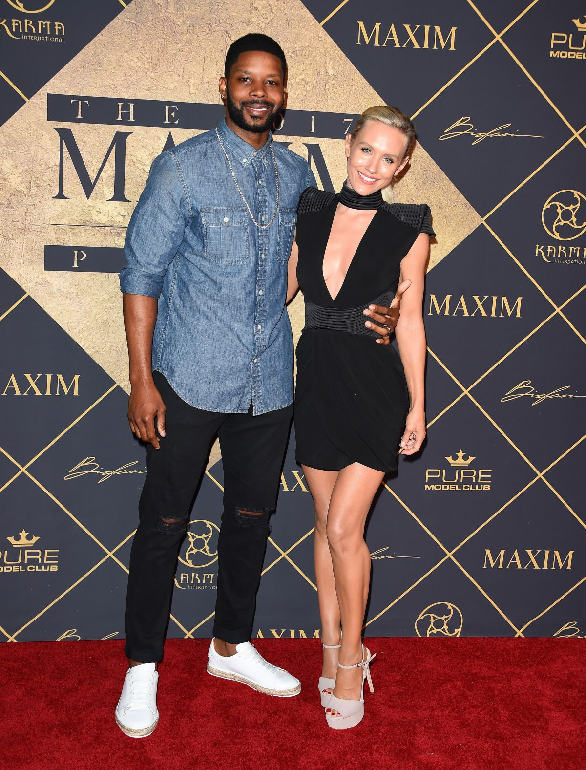 NICKY WHELAN at Maxim Hot 100 Party in Hollywood 06/24/2017