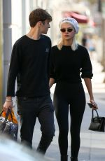 NICOLA PELTZ and Anwar Hadid Out in Beverly Hills 06/19/2017