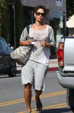 NICOLE MURPHY Out for Shopping in West Hollywood 06/01/2017