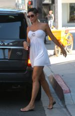 NICOLE MURPHY Out Shopping in Beverly Hills 06/26/2017