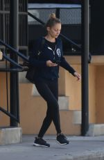 NICOLE RICHIE Leaves a Gym in Los Angeles 06/09/2017