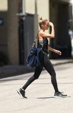 NICOLE RICHIE Leaves a Gym in Los Angeles 06/13/2017