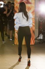NICOLE SCHERZINGER at The X Factor Photocall in Edinburgh 06/28/2017