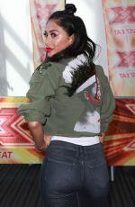 NICOLE SCHERZINGER at X Factor Auditions in Manchester 06/25/2017