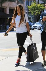 NIKI WITHERS Out Shopping in Beverly Hills 06/16/2017