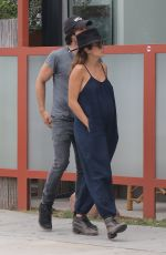 NIKKI REED and Ian Somerhalder Out and About in Venice 06/06/2017
