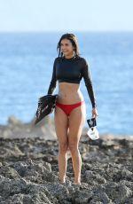 NINA DOBREV Filming a Documentary in Hawaii 06/23/2017